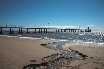 Shore line sand